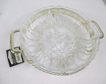 serving dish, Queen Anne, Silver plated Dish Hors d'oeuvre dish,