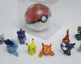 Pokeball soap with Pokemon toy inside - Pokemon Party Favor soap - Pokeball soap favor - Handmade Glycerin Soap