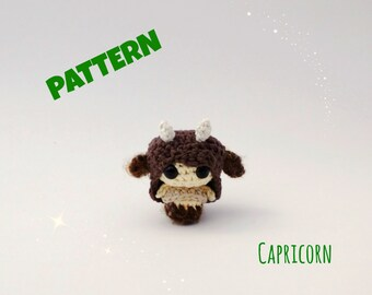 Crochet Amigurmi Zodiac Capricorn Doll Pattern Plush