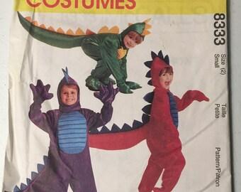 New Un-Cut McCall's Costumes Pattern 8333