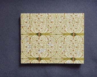 Soft Cover Blank Journal: Green Vine Cover