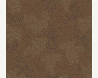 40% OFF SALE - Nature Elements COFFEE Liqueur Ne-107 - Pat Bravo for Art Gallery Fabrics - By the Yard