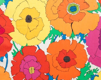 Alexander Henry - Mexican Poppy -  #8284B - Natural
