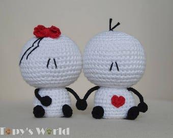 Bigli Migli (small) - crochet pattern, amigurumi pattern