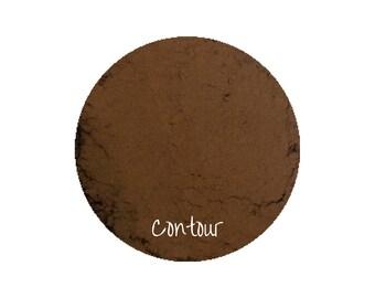 Contour Powder Makeup   Matte Contour   Natural Makeup   Organic Makeup   Vegan Makeup   Taupe Contouring Powder