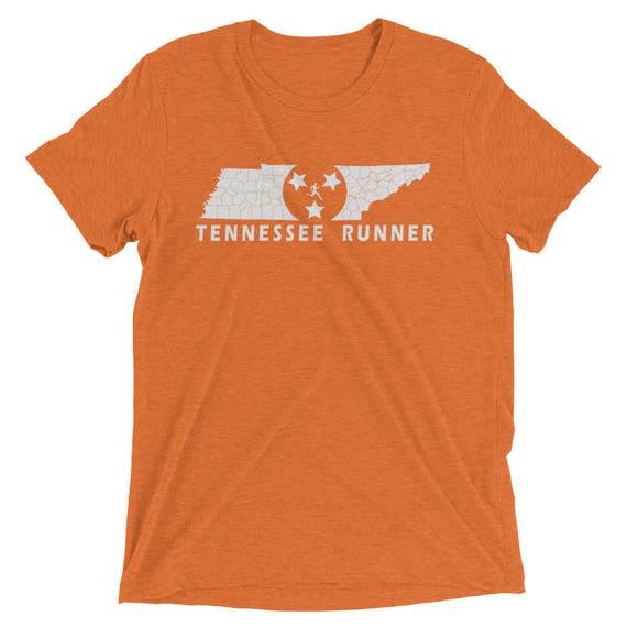 Men's Tennessee Runner Triblend T-Shirt - Run Tennessee - Men's Short-Sleeve Running Shirt