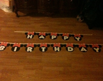 Disney Birthday Banner