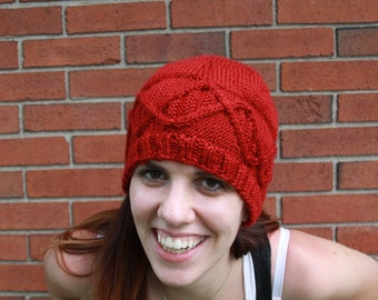 Knitted DNA Hat - Adult - Science - Biology - Nerdy