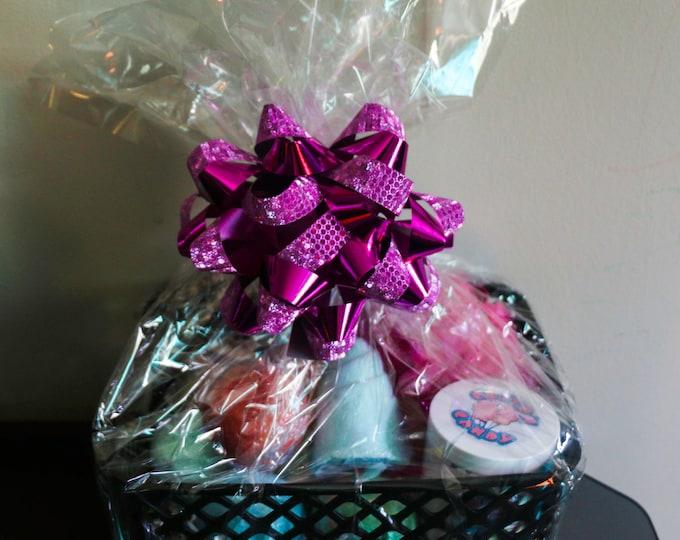 Custom XL Bath Gift Set Free Shipping New Goth/Spooky/Steam Punk Basket