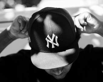 So N.Y., New York City, Yankees, NYC, NYC Photography, NYC gifts, I Love New York, Yankees Hat, Fitted Hat