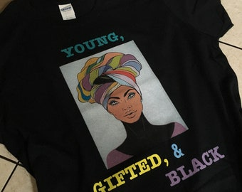 Young, Gifted & Black Tee