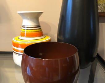 Vintage Dansk IHQ Kobenstyle Enamel Bowl