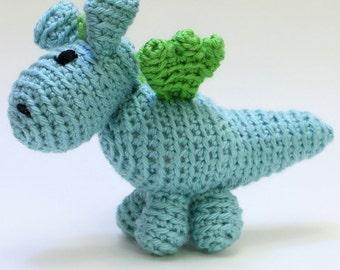 Small Crochet Dragon