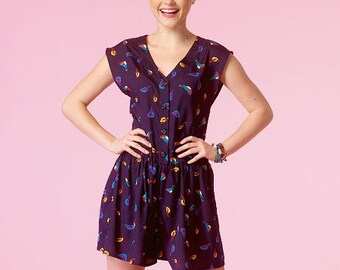 McCall's Pattern M7115 Misses' Romper and Dresses