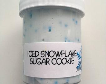 Iced Snowflake Sugar Cookie Slime