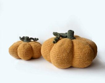 Pumpkins Crocet Pattern Set, Crochet Pumpkin Pattern, Halloween Pumpkin Crochet Pattern, Crochet Halloween Pumpkin Pattern, Seasonal Crochet