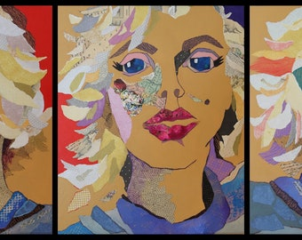 Marilyn Monroe - Marilyn Monroe painting - acrylic mixed Media