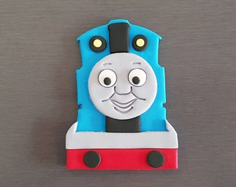 1 x Thomas Cake Topper, Edible fondant Thomas topper, Thomas Train decorations, Train toppers, Thomas cake topper