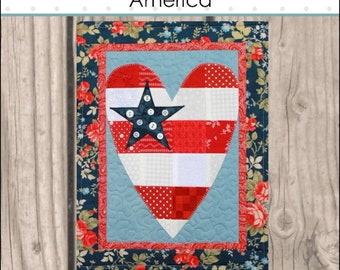 HNH49 Seasons in Patches - America PDF Pattern