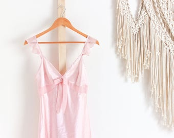 Babydoll Pink Night Gown Lingerie