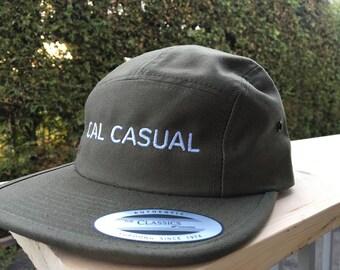 Cal Casual 5 Panel Cap