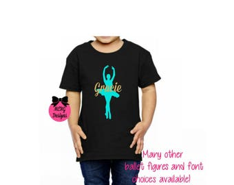 Top Girls ballet shirt | Etsy YA73