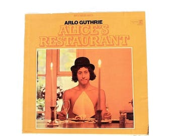 Arlo Guthrie - Alices Restaurant - Vinyl Album