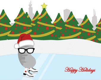 The Holiday Adventures of El Beano - Chicago Greeting Card Pack