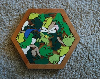 Frogs and Tadpoles Puzzle