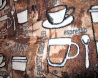 Coffee Latte Espresso Tea Blanket