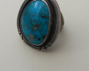 Classic Turquoise Ring