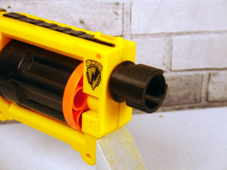Maverick Suppressor Adapter for Nerf® Gun