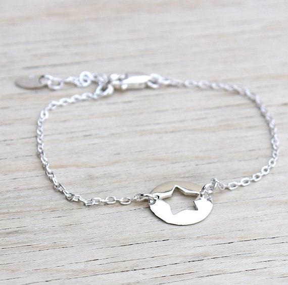 Star bracelet Silver 925 Medal