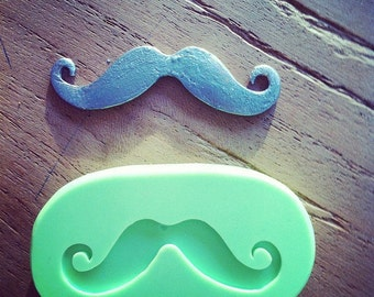 Moustache silicone mold, Mustache mould