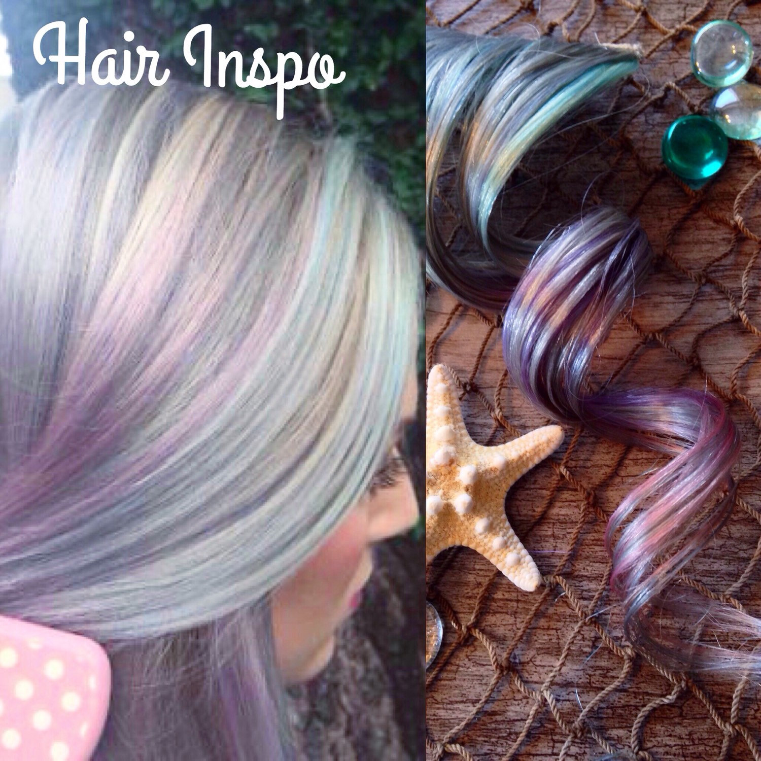 Silver Ombre Hair Extensions Lavender Hair Pastel Hair Pink