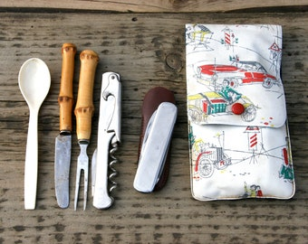 Vintage travel cutlery 50th