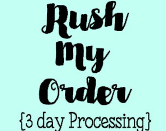 Rush Order Addition - Add to Your Whisper Willow Designs Order
