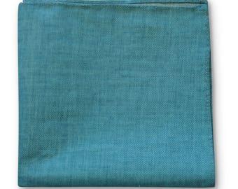 Frederick Thomas sea green turquoise pocket square FT3363