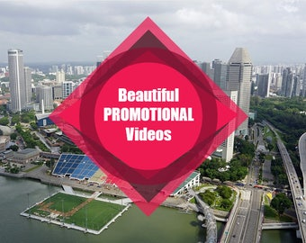 Increase Sales | Create Your Own Beautiful Promotional Videos to Showcase Your Products, Services & Business | Promote on Social Media