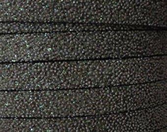 Flat 10mm grey effect slightly sparkly caviar, sold by 20 cm strap