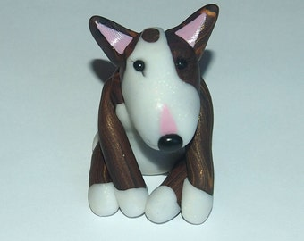 Stunning Custom-Made English Bull Terrier Figurines