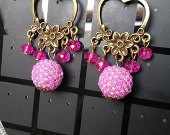Enchanted Garden earrings