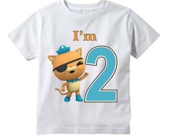 Octonauts / Octonauts t-shirts/ Octonauts custom t-shirts/ Octonauts Kwazii  /