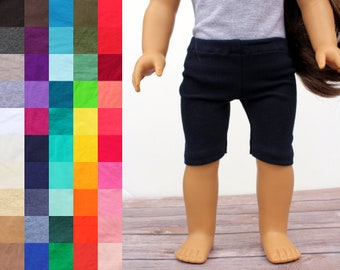 Fits like American Girl Doll Clothes - Bike Shorts, You Choose Color | 18 Inch Doll Clothes