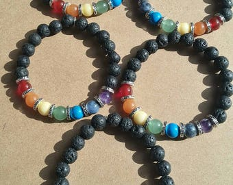 Diffuser Chakra Bracelets