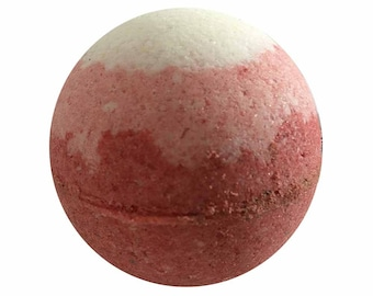 Japanese Cherry Blossom Bath Bomb, Bath Fizzy, Handmade Spa Product, Epsom Salts, Hydrating Coconut Oil, Sensitive Skin, Great Gift for Her