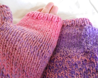 lady fingerless gloves