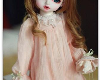 MSD - Pink Dress for 1/4BJD, MSD/MiniFee