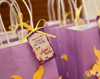 Tangled Inspired Gift Tags