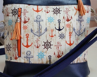 Summertime Purse (made in USA by the Chesapeake Bay)